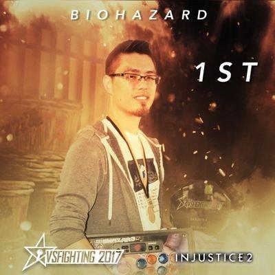 EANIX Biohazard , Top 16 Injustice 2 at SCR