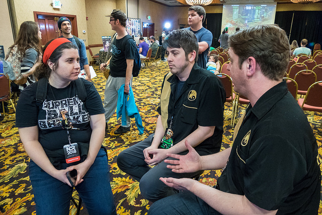 Sirlin and I discuss SF2 stuff with  Killer Miller  of  ST Revival