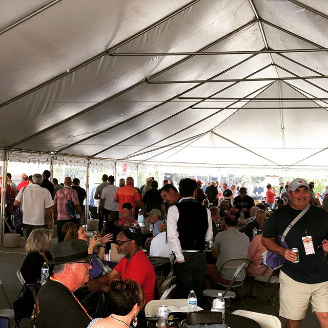 KC Cigar Fest 2019 underway. Perfect weather and perfect smells. A perfect place to take some time and relax (and stock up on new @xikar ) #kansascity #cigar