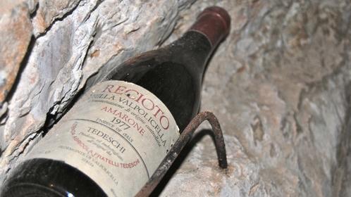 Bottiglia di Recioto della Valpolicella (è il padre dell'Amarone)