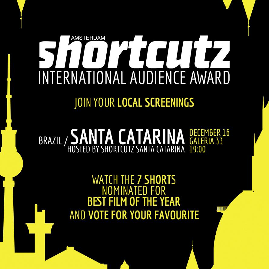 SANTA CATARINA   HOSTED BY   SHORTCUTZ SANTA CATARINA    DECEMBER 16th | @    G     ALERIA 33   > 19:00   < FREE ENTRY >