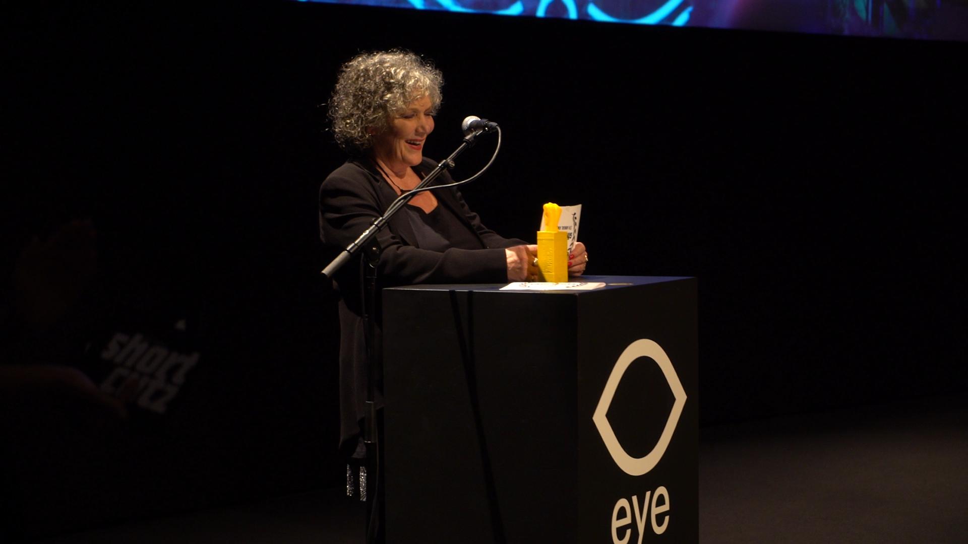 actress Willeke van Ammelrooy announcing the winner for Best Film | Photo credits: Magda Lepczyńska