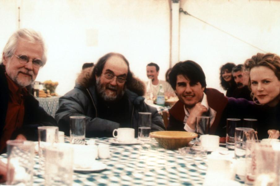 Jan Harlan, Kubrick, Tom Cruise and Nicole Kidman.jpg