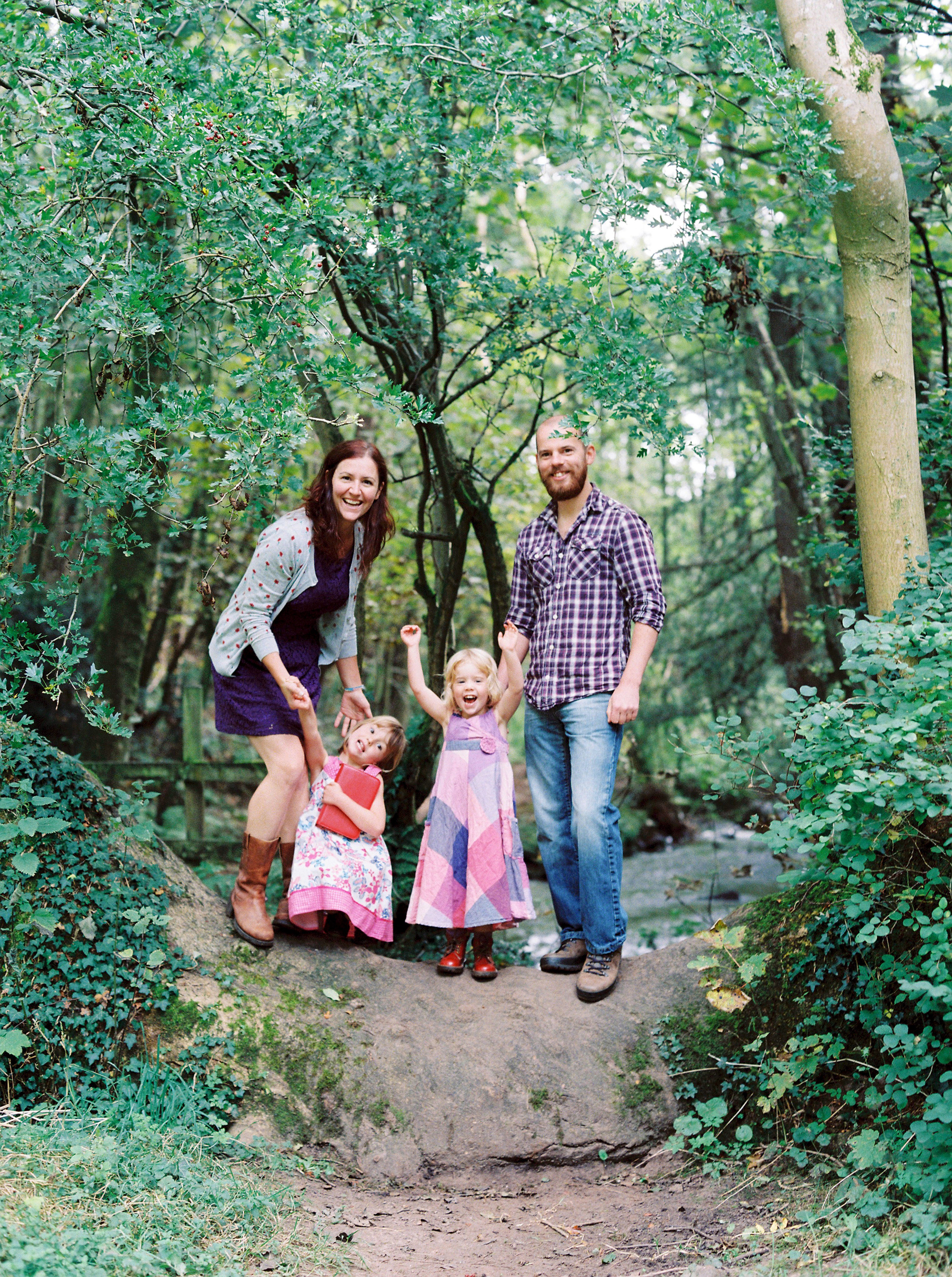 colourful family photos | Cumbria - A stroll and a play, perfect activity for a family shoot!
