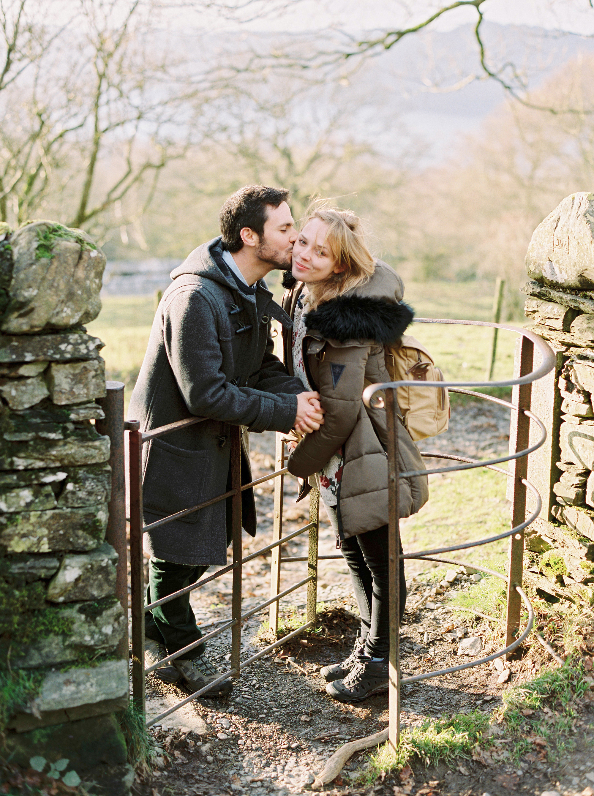 Windermere love shoot - Although not technically an engagement shoot Reuben and Polly did get engaged not long after I took these photos! Coming all the way from Israel I was so happy to spend time with them both taking photos and showing them the sights of the Lake District.