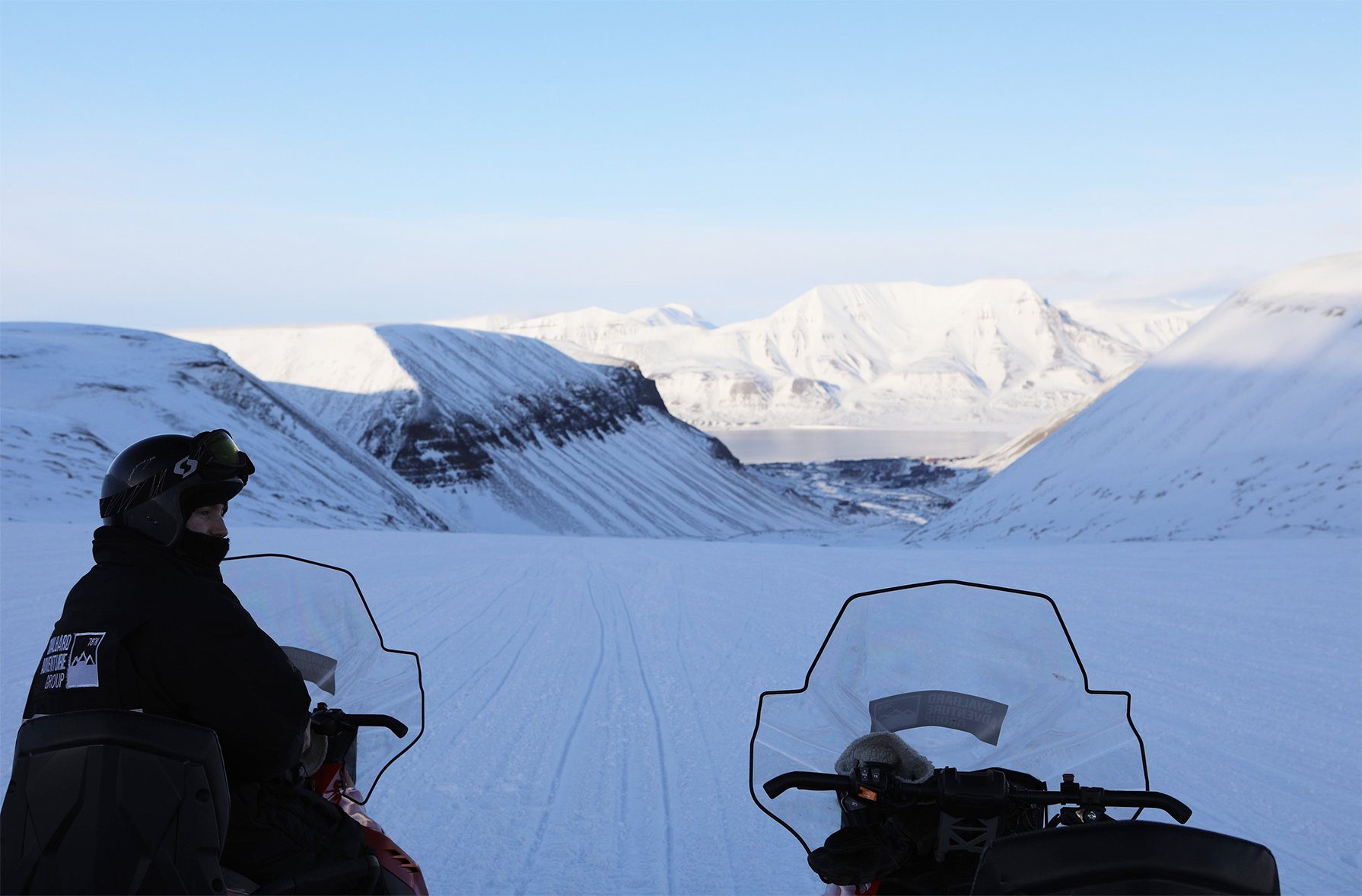 - Snowmobile is the best way to get around Svalbard