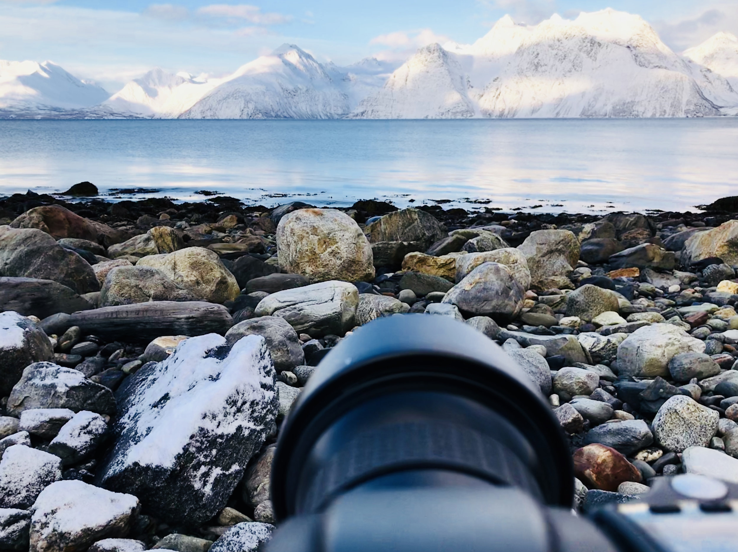 A view from behind the lens