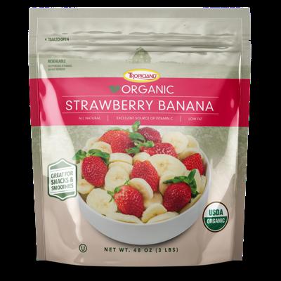 Frozen Strawberries and Bananas