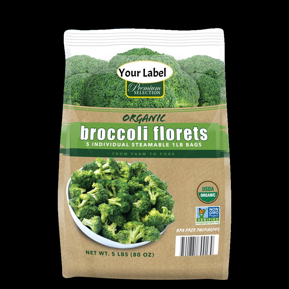frozen broccoli private label Meel Corp