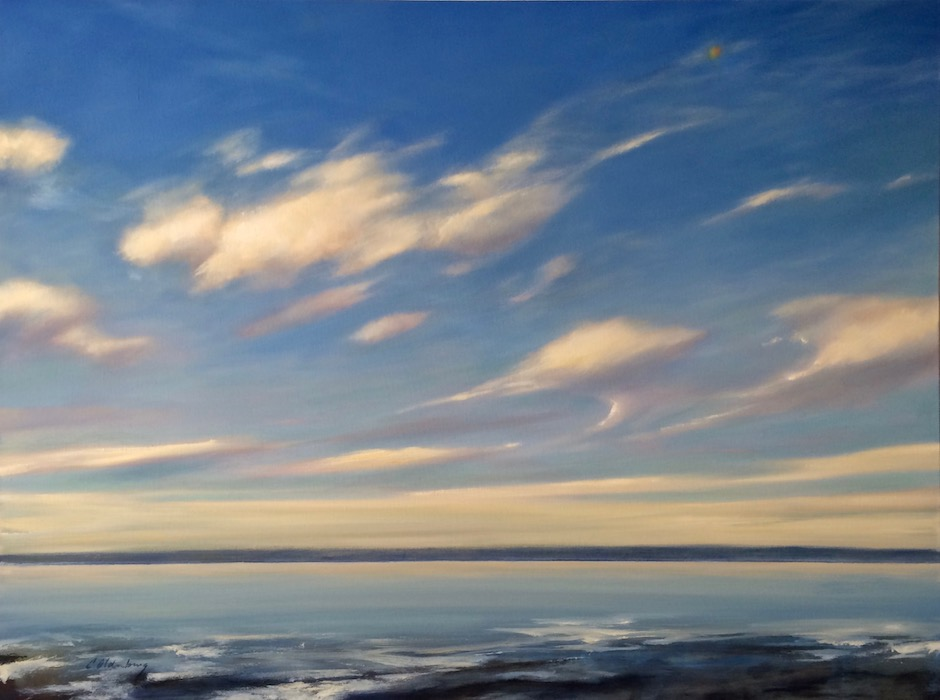 "Oil on canvas . 36"" x 48"" . $4800"