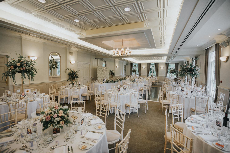 The Orangery Maidstone Kent Wedding Set Up