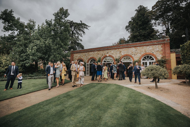 The Orangery Maidstone Wedding Reception