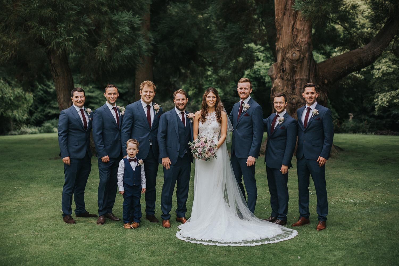 The Orangery Maidstone Wedding Group Shots