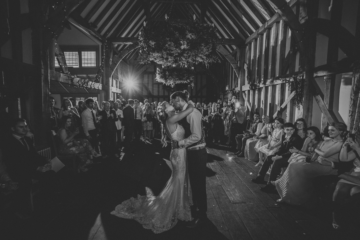 Gate Street Barn Wedding First Dance