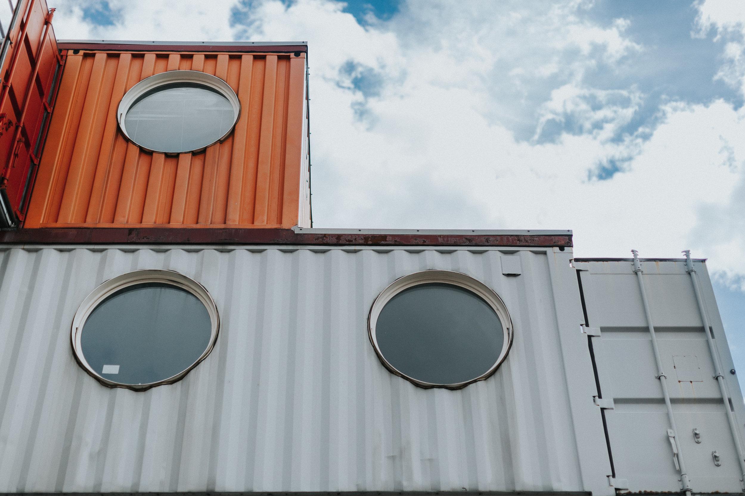 Trinity Buoy Wharf Crates
