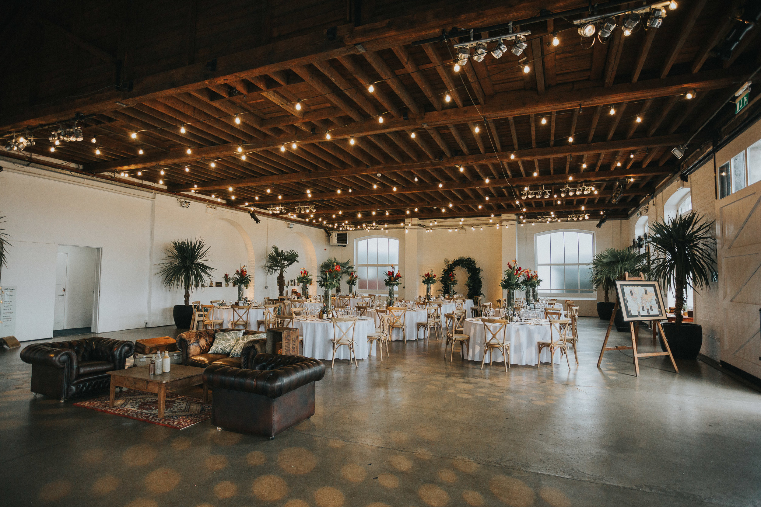 Trinity Buoy Wharf Caribbean Theme Wedding