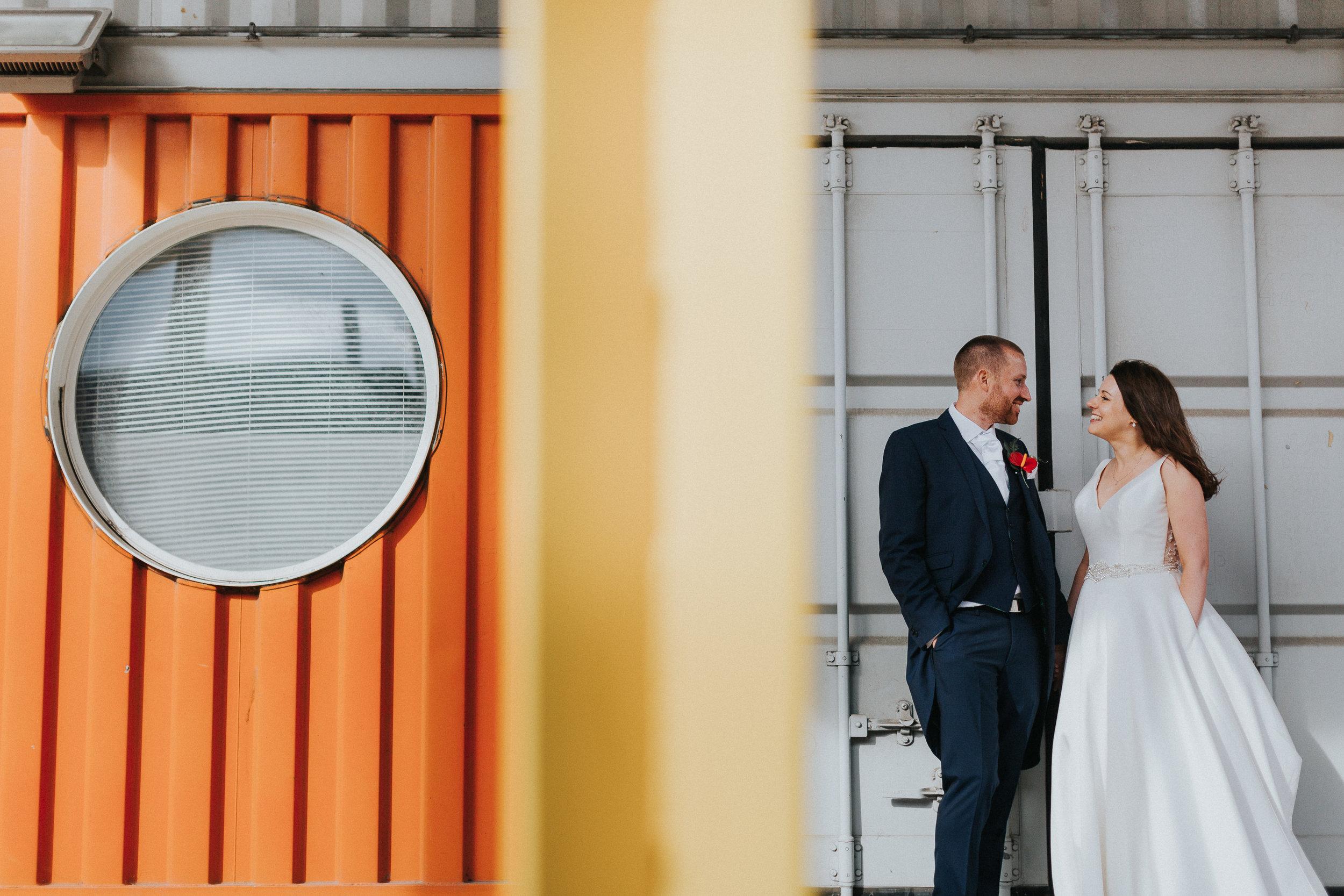 Trinity Buoy Wharf Crates Couple Shots