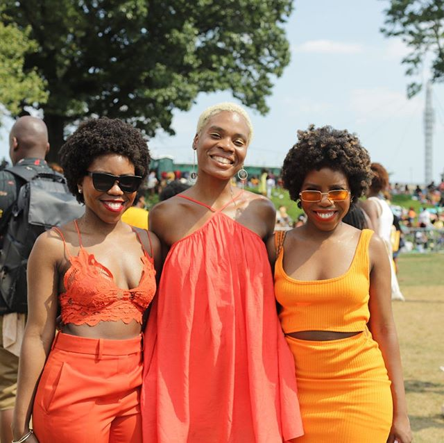 Curlfest was EVERYTHING 🤪  So many beautiful black people for miles! #curlfest2019 #curlygirlcollective #taperedcutnaturalhair #4chair #type4hair #naturalhair #kinkyhair #afro #afrohair #twa #taperedcut #nyc #healthynaturalhair #naturalhairstyles #naturalhairstyle #4c #4chairstyles #4chairchick