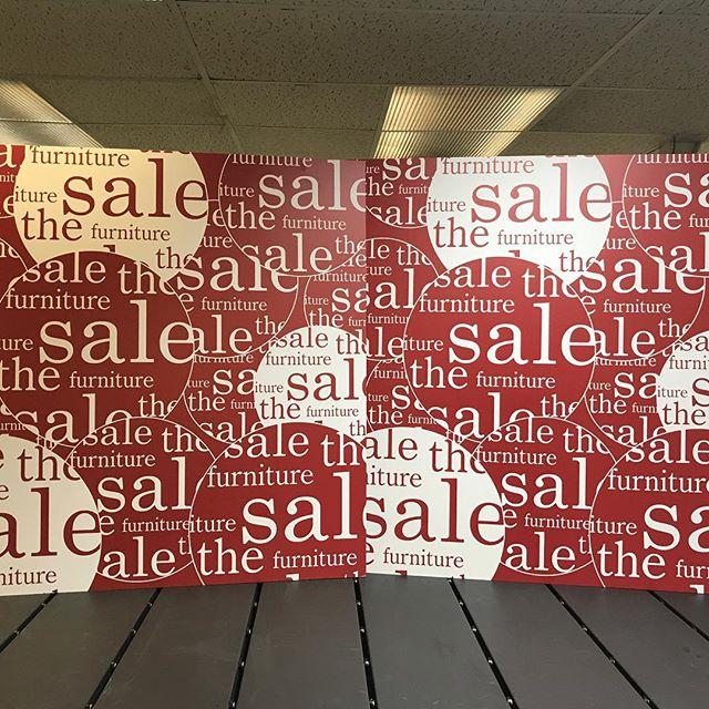Getting ready for the sale season with efi Vutek! #foamboards #efivutek #pointofsale #boxingdaysales