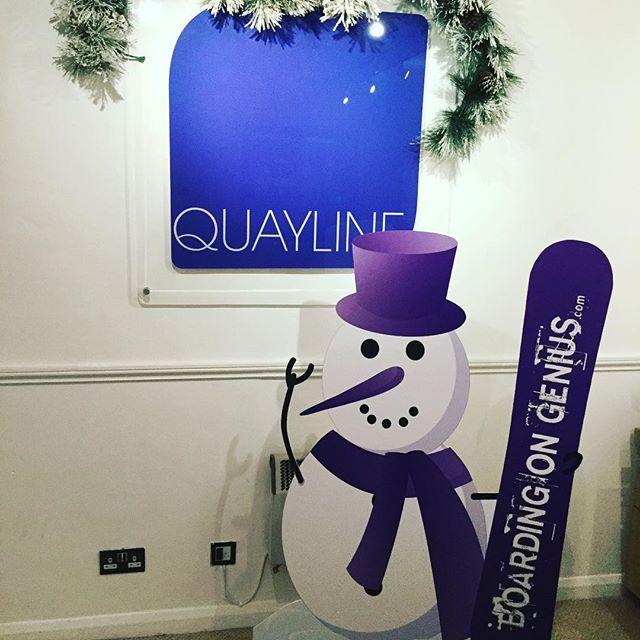 Getting handy with a scalpel! Meet the newest member of team Quayline! #foamboard #efivutek #largeformatprinting #cutouts