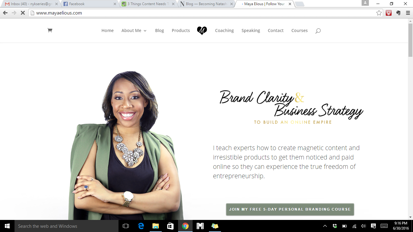 MayaElious Website