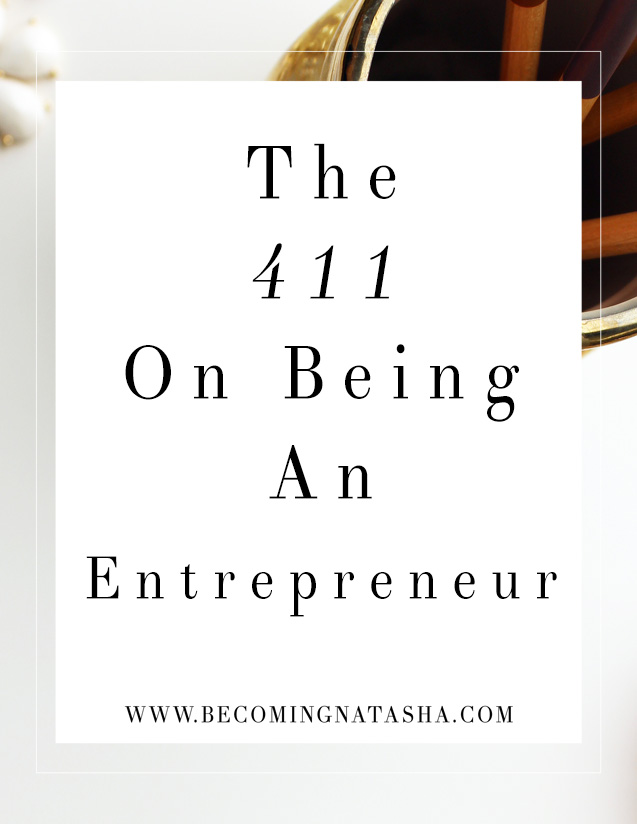411 On Entrepreneurship