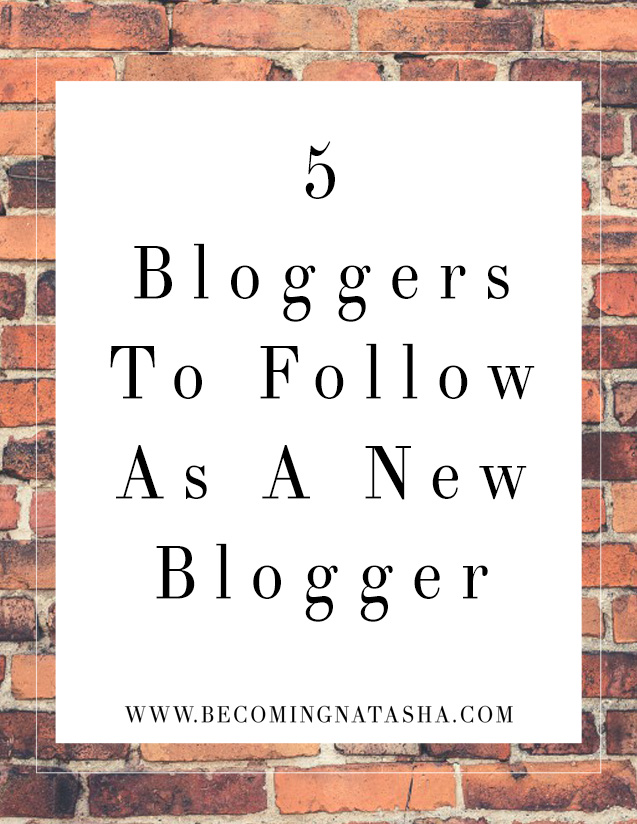 5 Bloggers To Follow