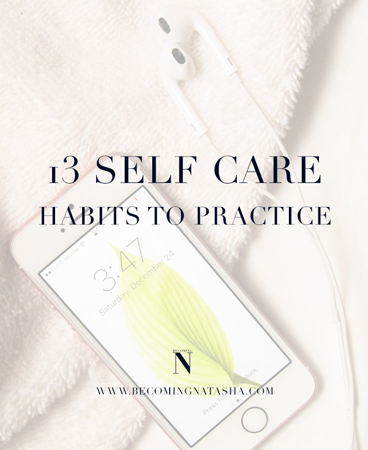 Self Care Habits To Focus On