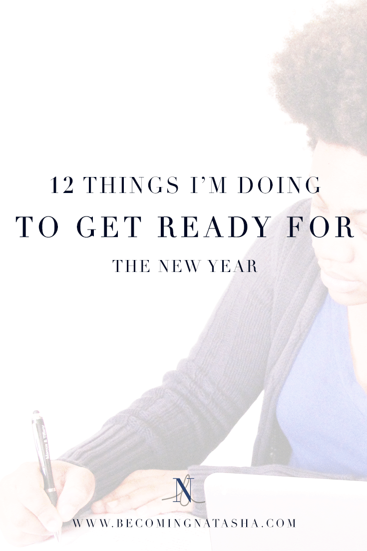 12 Things Getting Ready For New Year BN