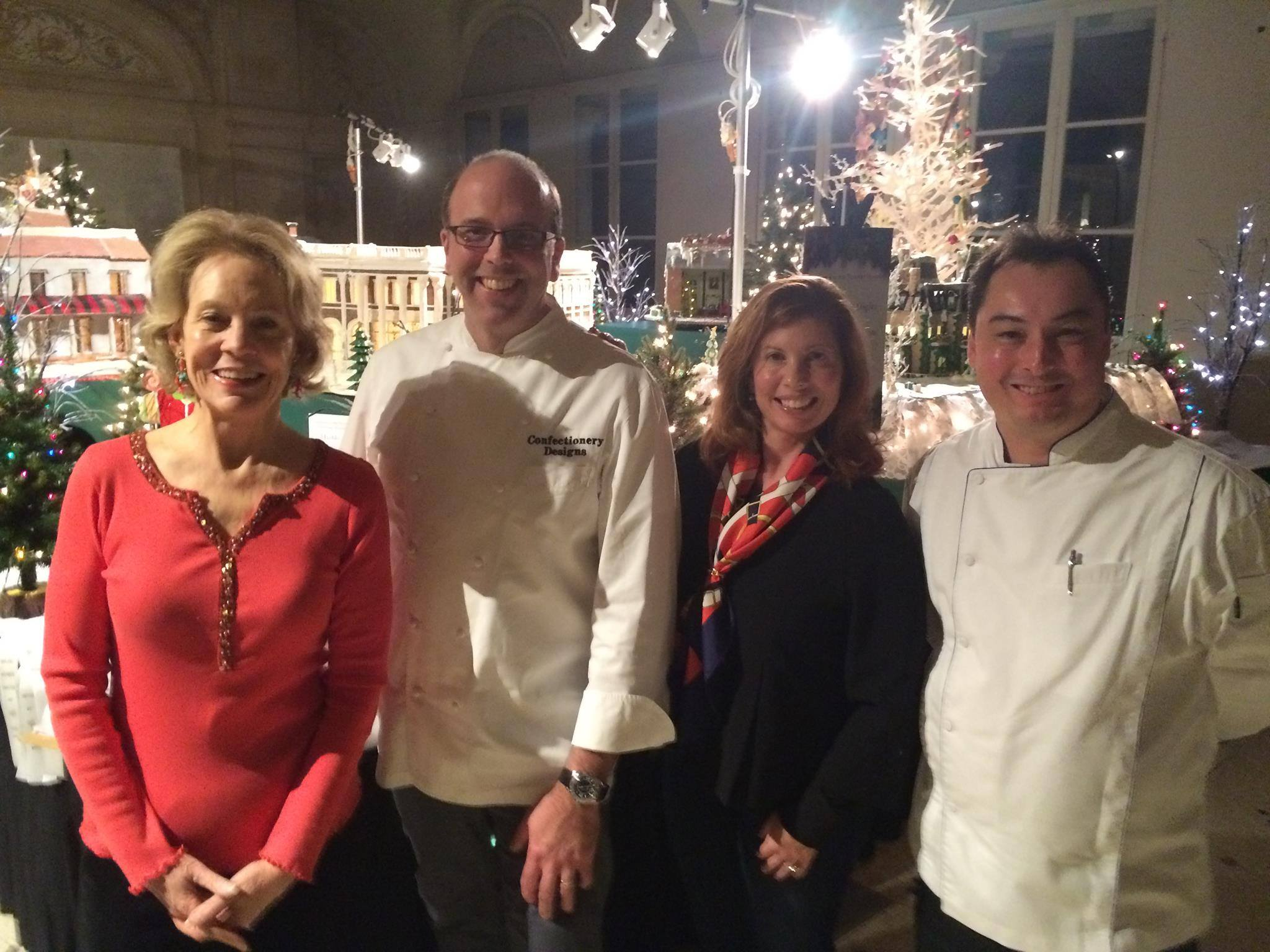 Judging pastry competition at The Breakers! Great company too, with famous authors Bettie Pardee and Claudine Pepin!!