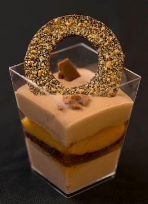 Catalan Verrine 2014 Winner   Dessert Cup Competition, Pastry Live, Atlanta