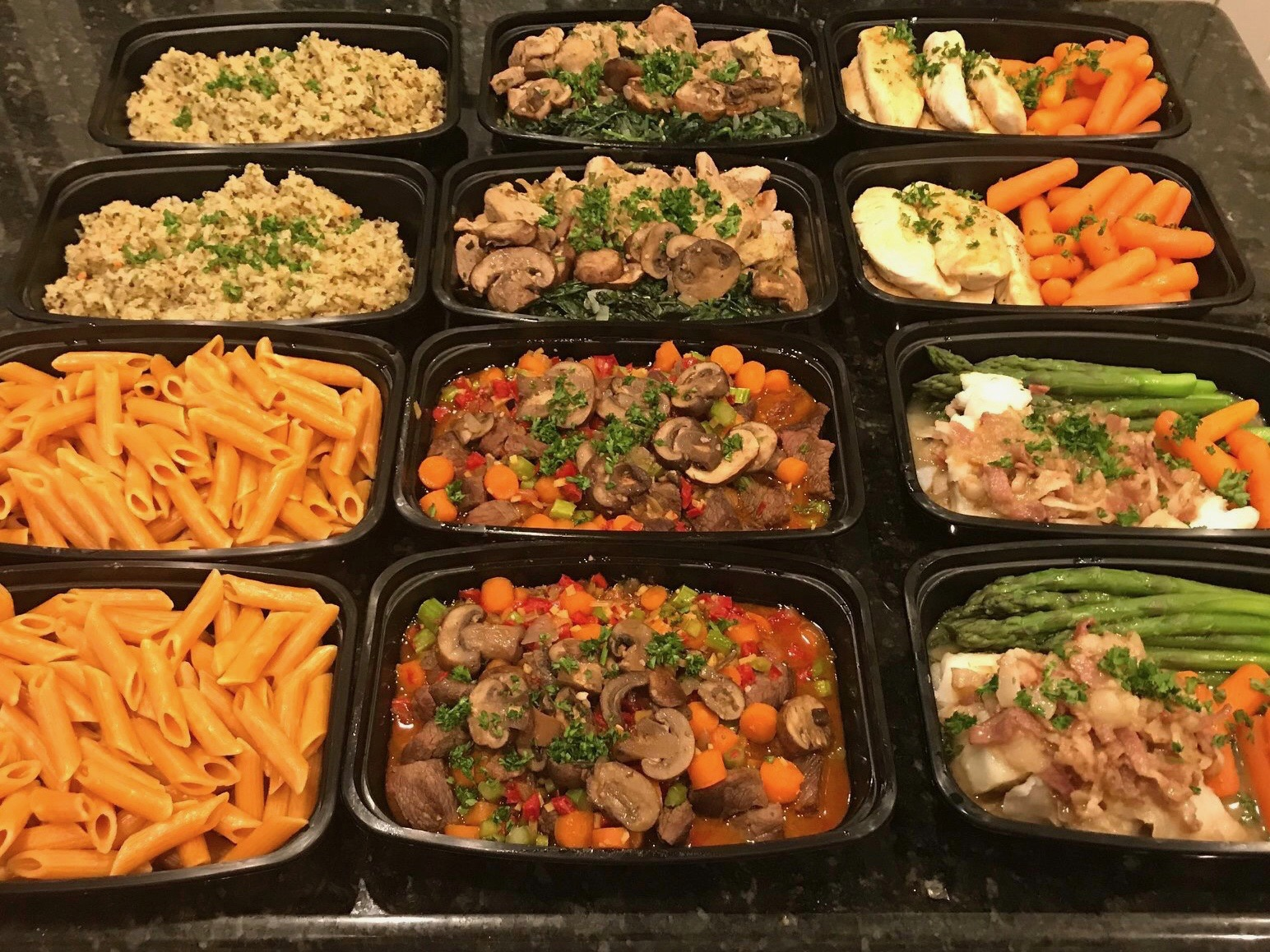 Fresh, Healthy Meals prepared in your home with your preferences in mind by a talented and recognized chef. - Efficient storage, easy-for-you preparation, so delicious and so good for you!