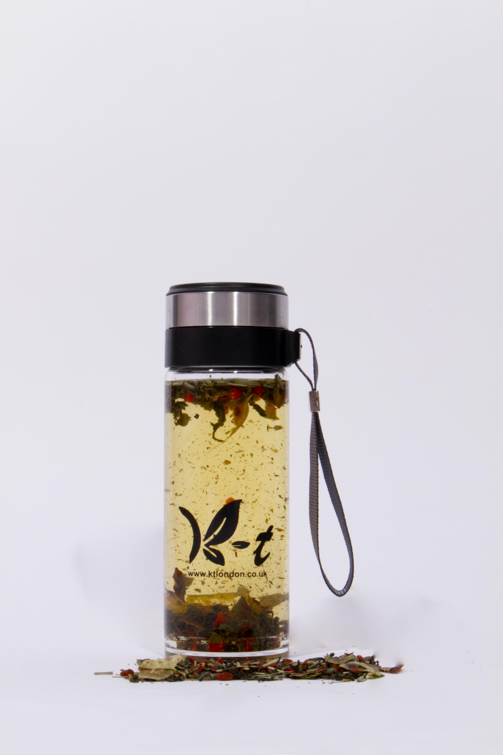 Lifestyle Tea & Filter Bottle