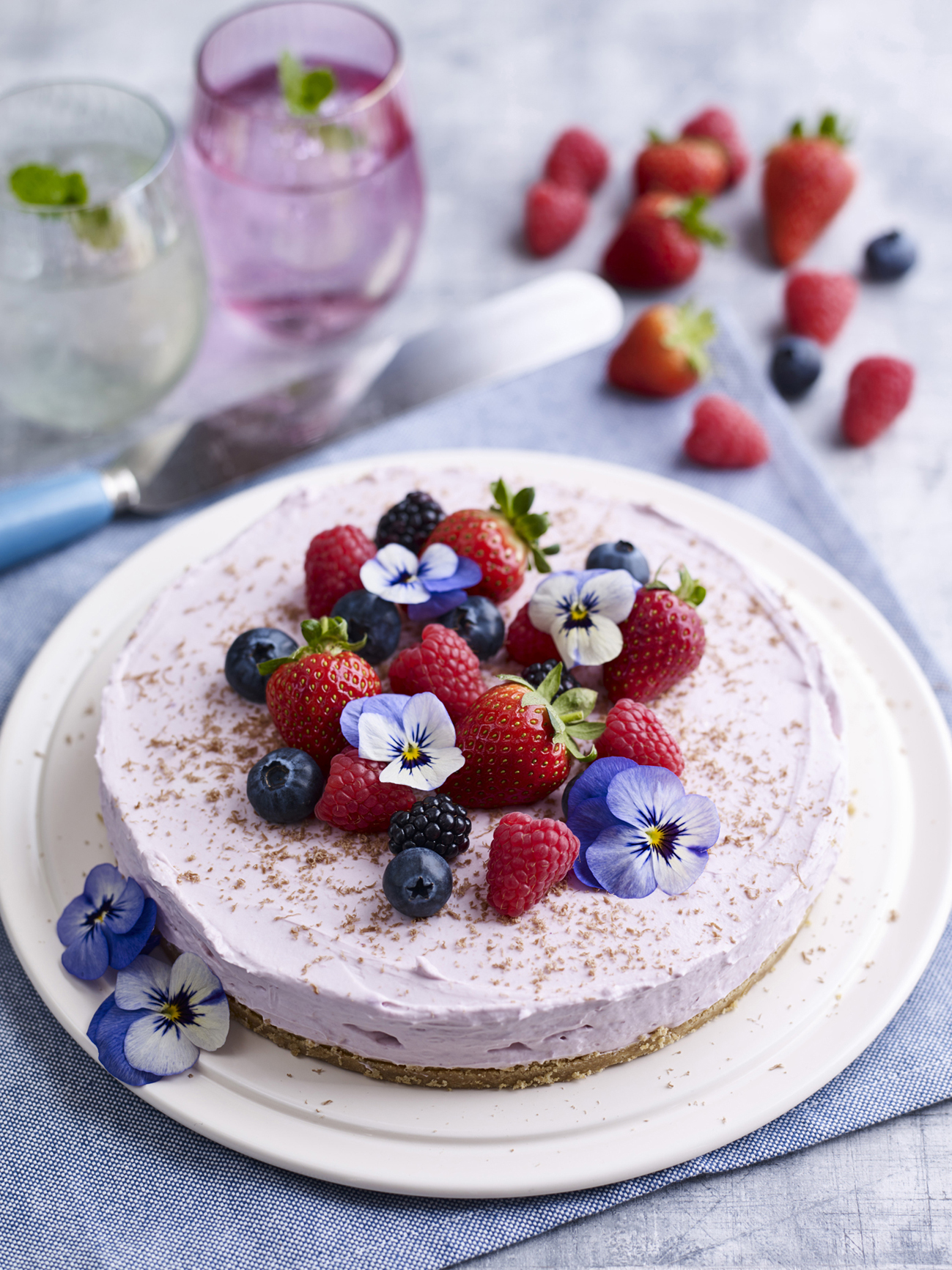 BerryWorld mixed berry cheesecake flowers.jpg