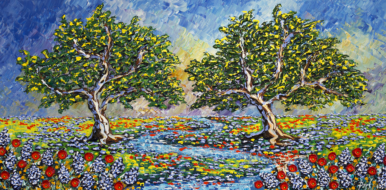 """""""Oake Trees of the Bright Stream"""""""