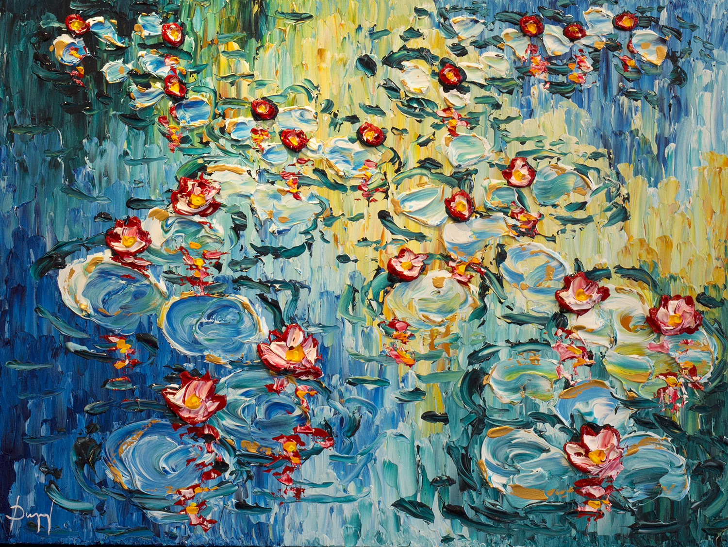 """""""Water Lillies of the Bright Reflection"""""""