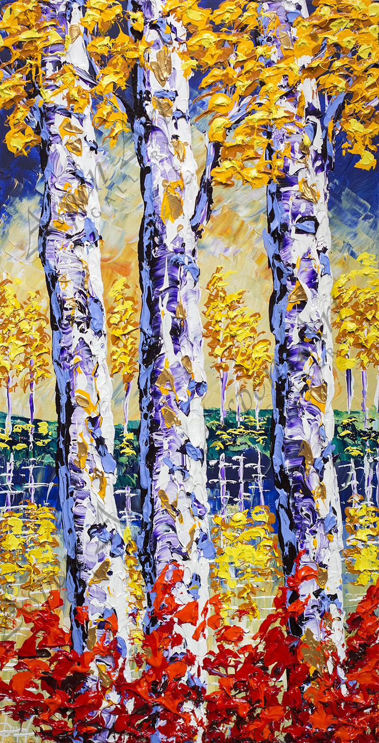 Forest of Eternal Colors 40x20