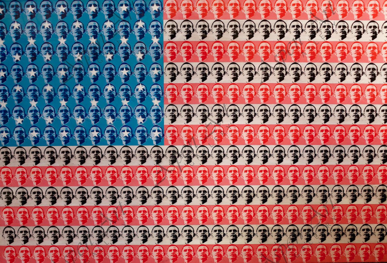 Ben Levy 'Democracy' 49x72