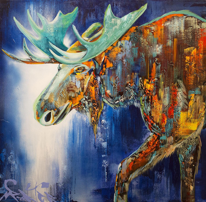 Moose 36x36