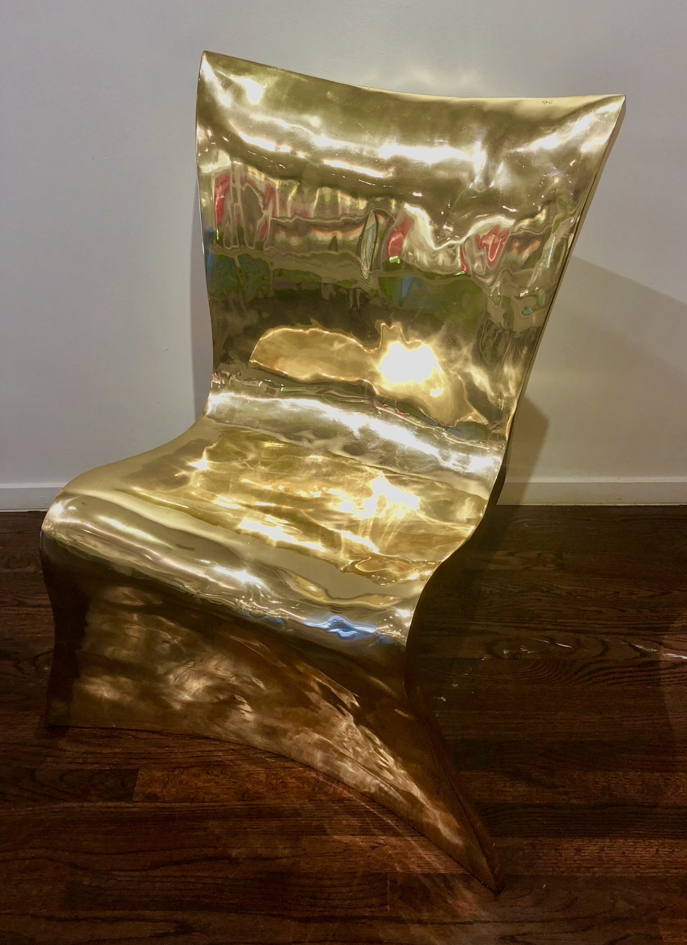 Bronze Couture Chair