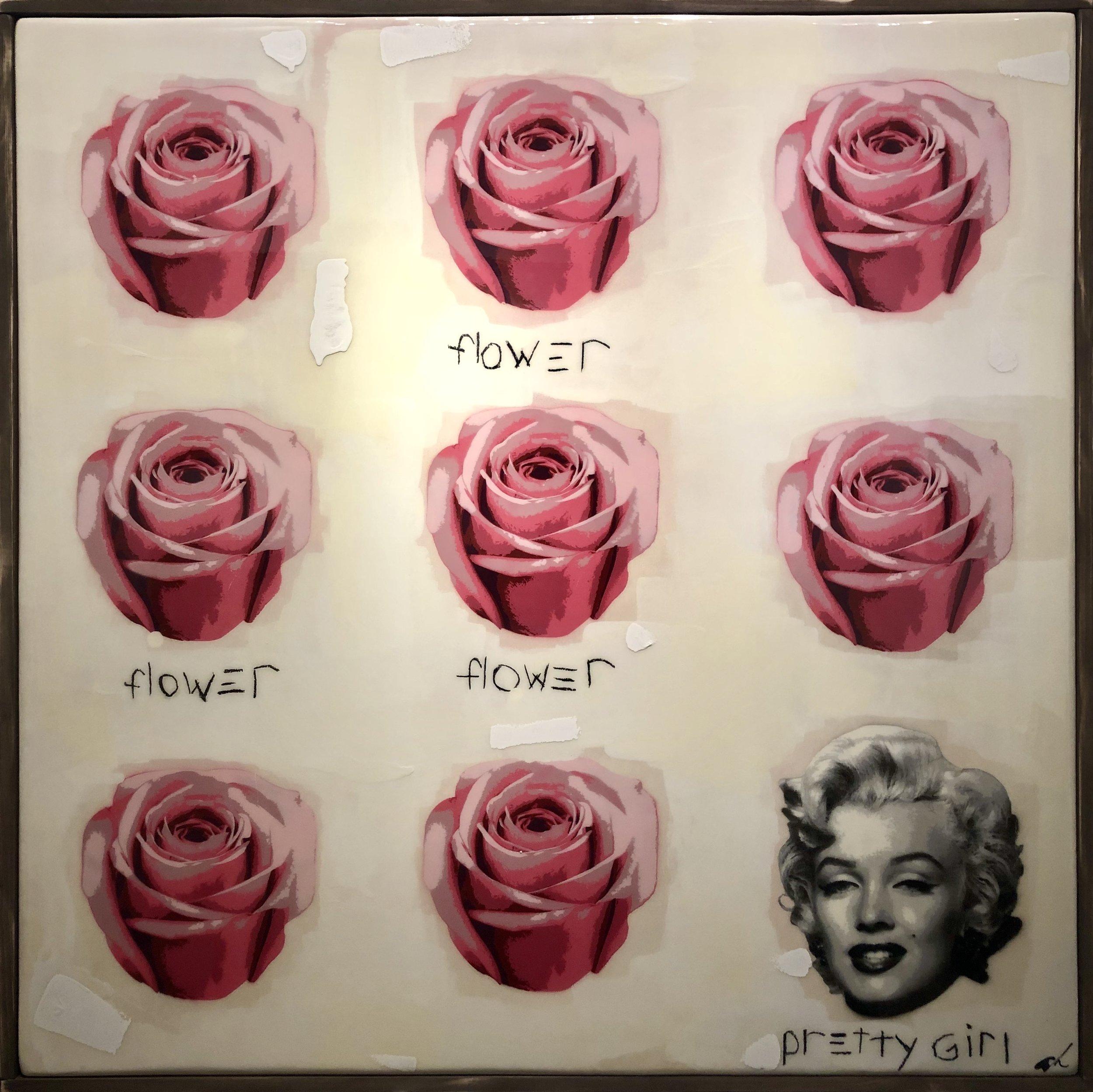 Flower, Flower, Pretty Girl 50x50