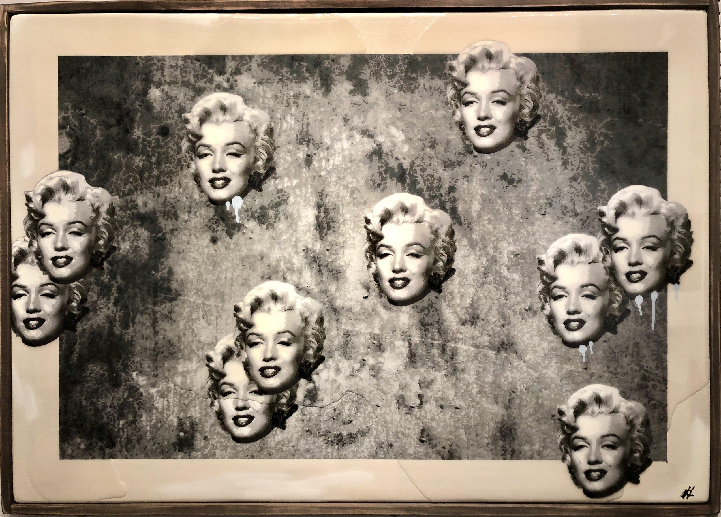 Marilyn Concrete 38x50