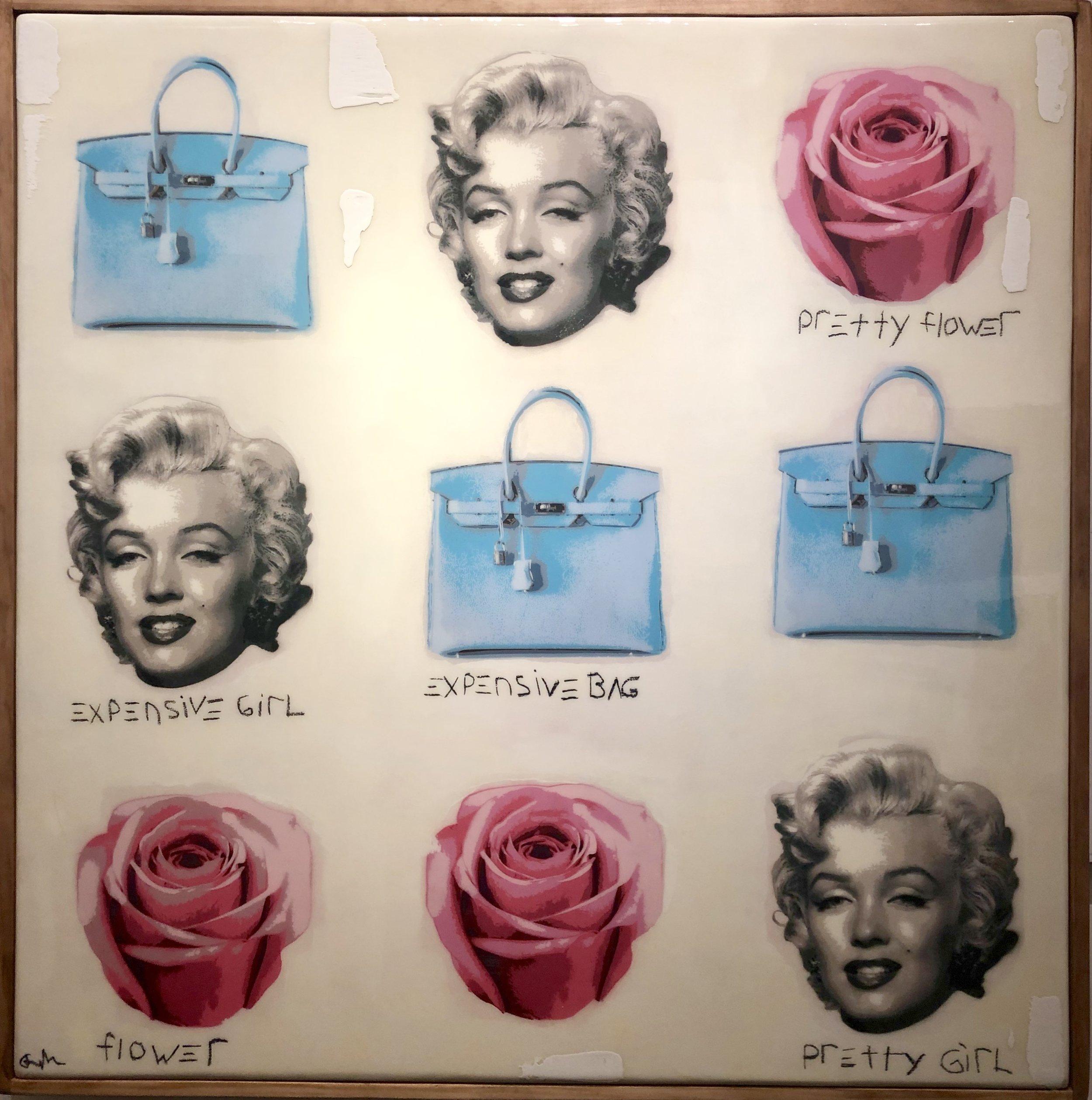 Expensive Bag, Pretty Girl 50x50