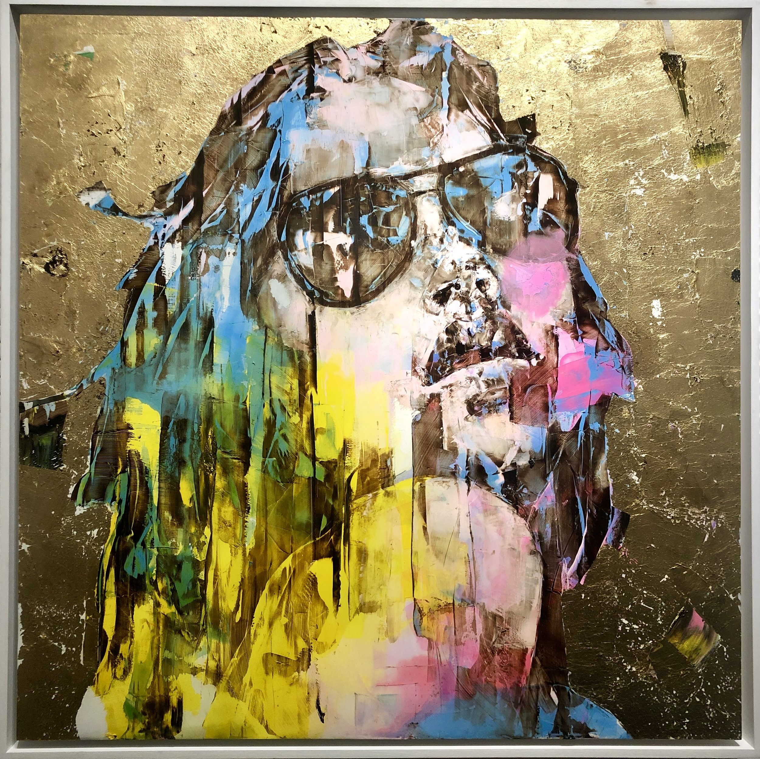 """MARCO GRASSI """"The Gold Experience 235"""" 41x41"""
