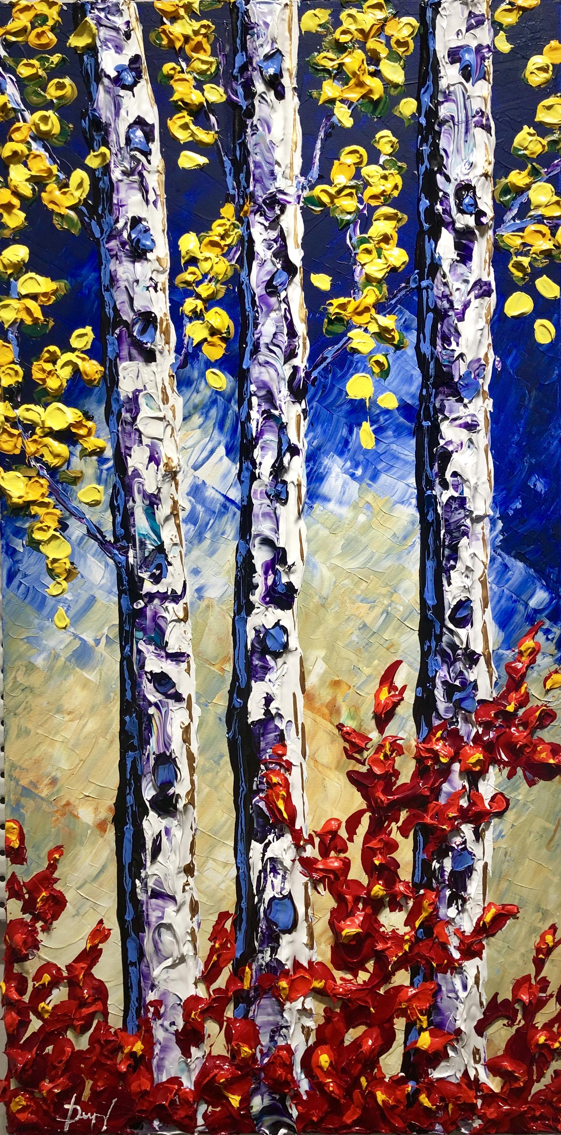 "Dupuy ""Aspen of Beautiful Autumn Colors"" 40x20"