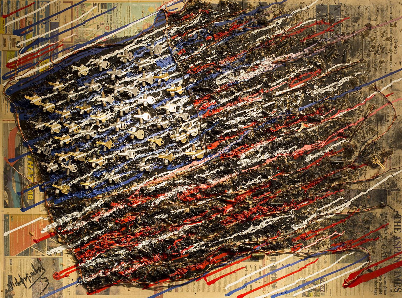 Black Flag 36x48
