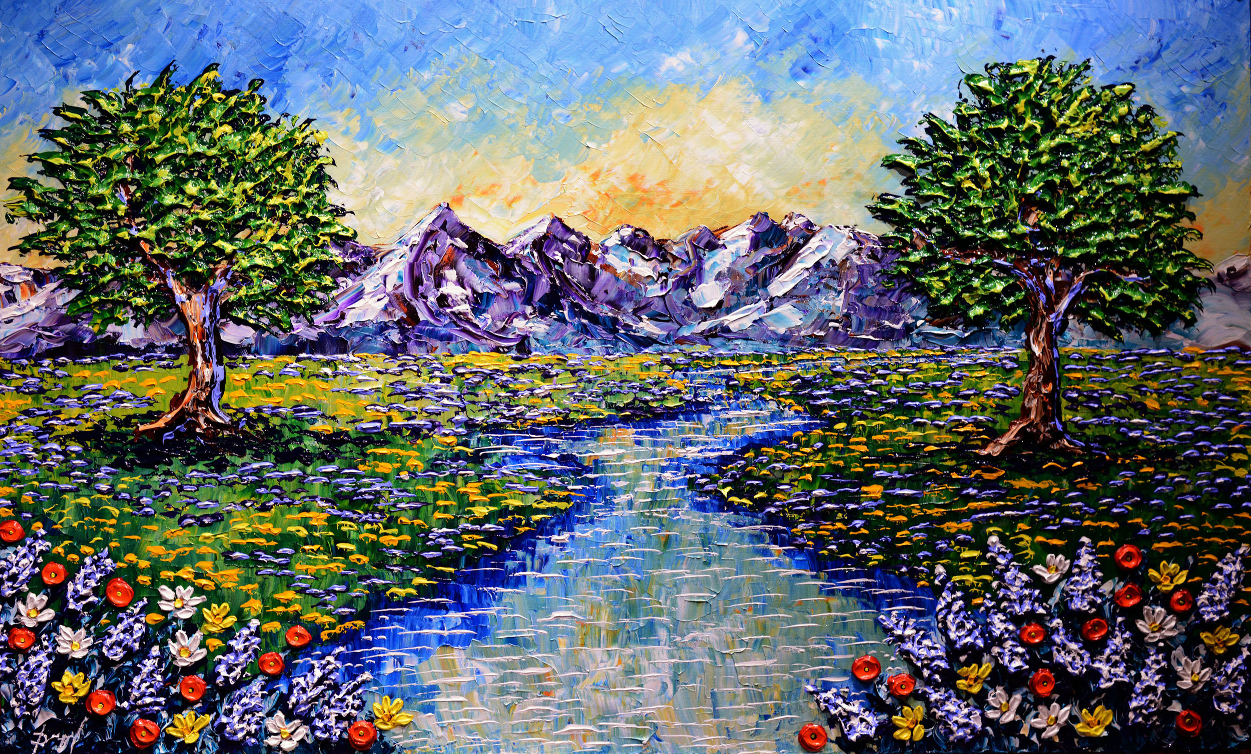 Colorful-Stream-of-the-Mountains-36x60.jpg