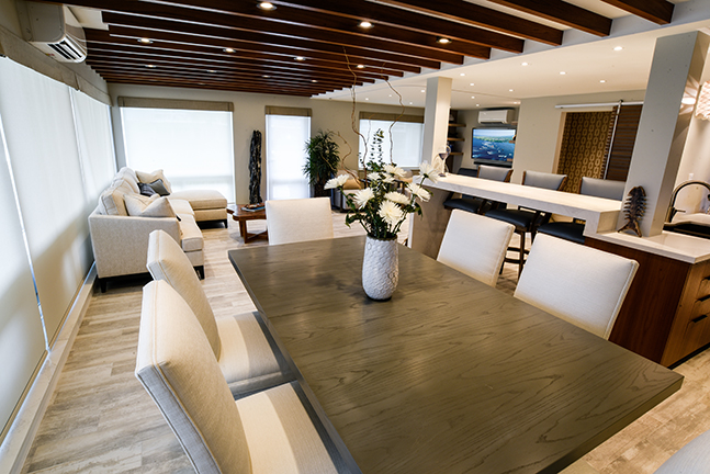 Dining Area of K Residence