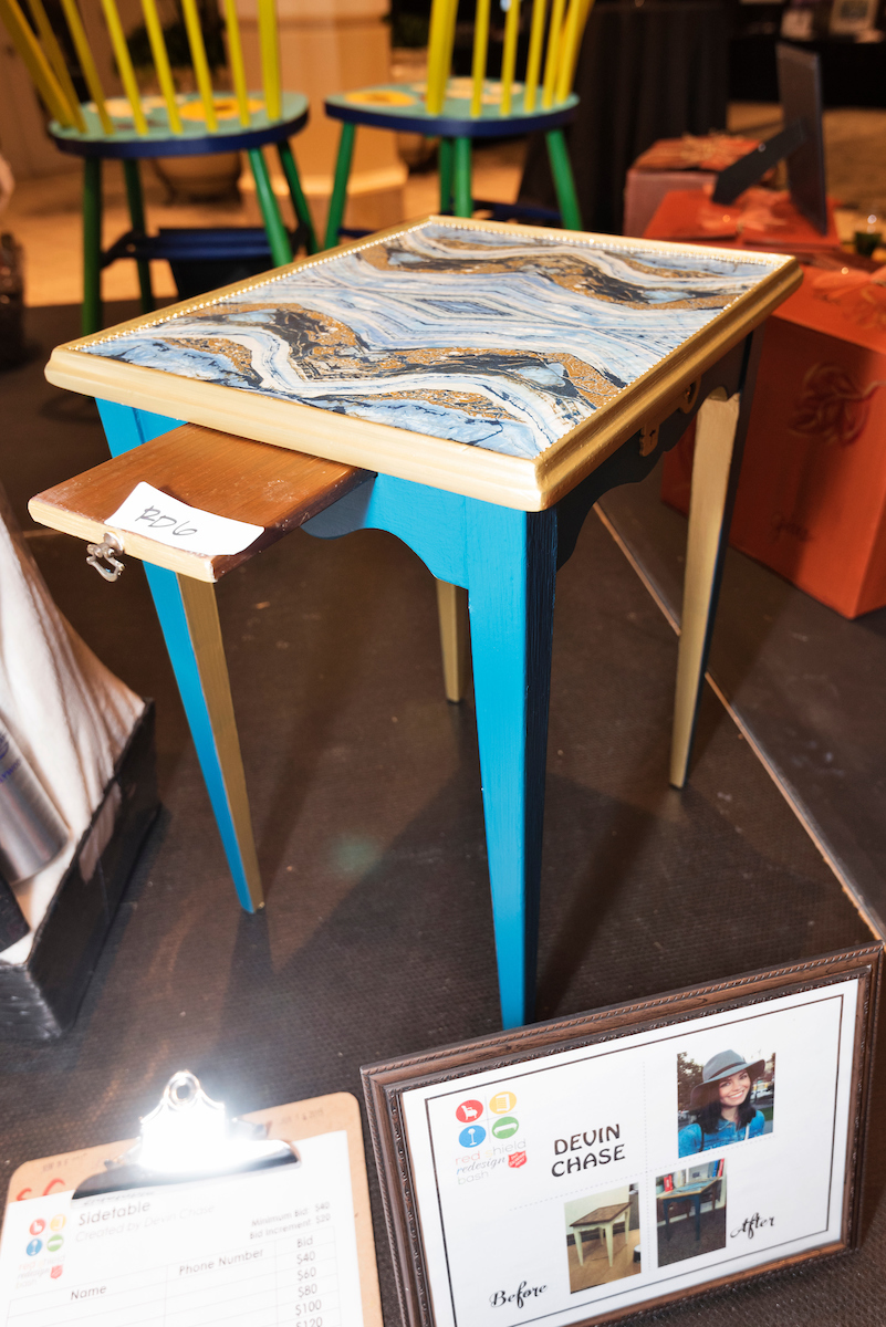Custom Agate Table