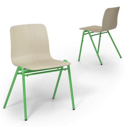 Green AFrame Chairs